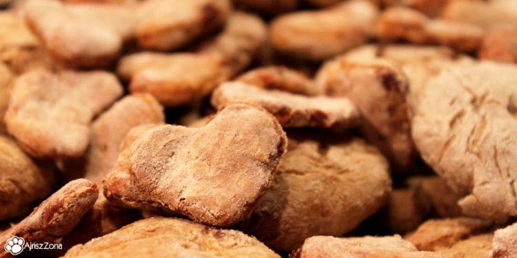 domowe ciasteczka z wątróbką i marchewką dla psa
